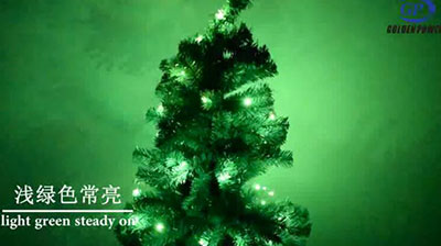 铜线串圣诞树