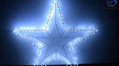 五角星铁星光