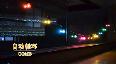 RGB bulb light string