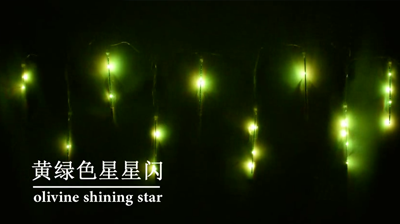 流星雨灯串