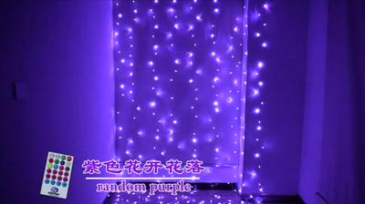RGB64功能窗帘灯串