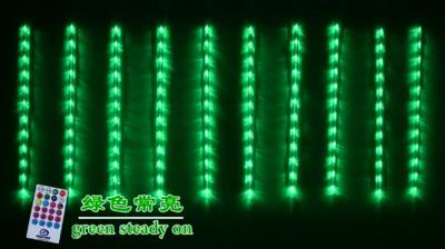 RGB64功能流星雨灯串(50厘米)
