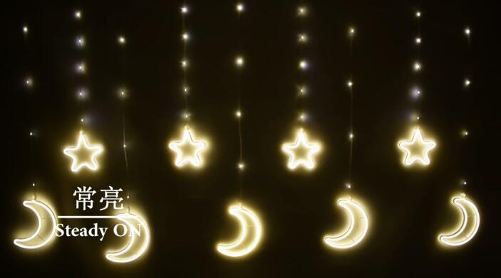 遥控月光星星串
