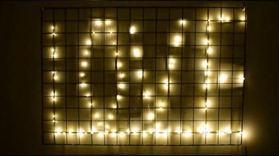 10段调光铜线灯串