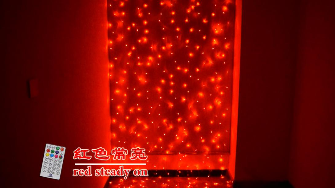 RGB64功能音控窗帘灯